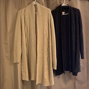 2 for 1 - A New Day Sweater Cardigan - S